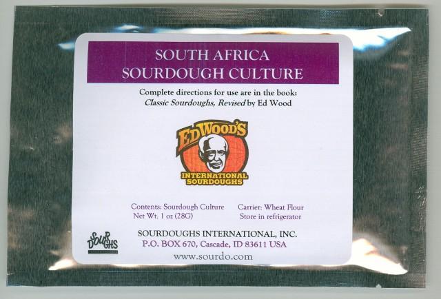 South African Sourdough Starter