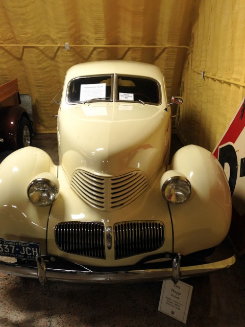 1941 Hupp Skylark.  A car museum in the small town of Afton Oklahoma.  Old Route 66 passes through this town.