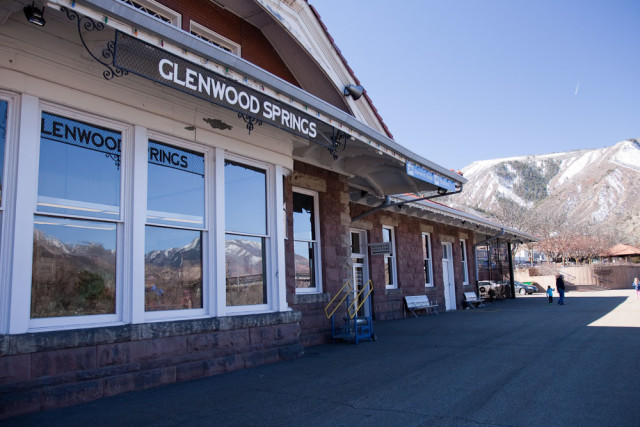 Train Station, Glenwood Springs, Colorado.