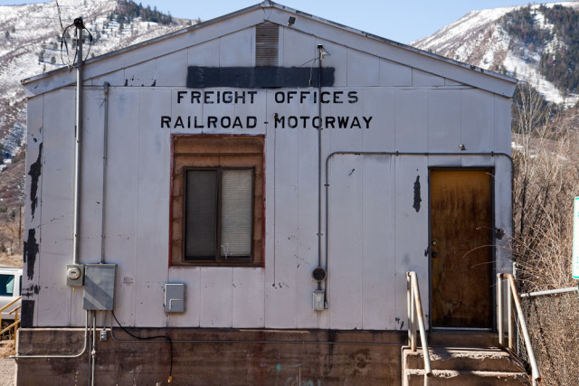 Old freight office
