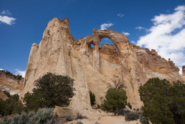 Grosvenor Arch, near Kodachrome State Park