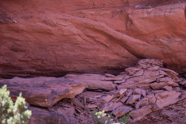 Cliff Dwelling off of Steep Creek and The Gulch
